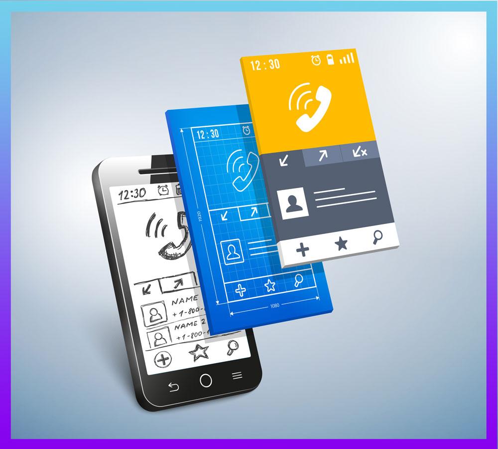 Les différentes phase de design pour une application mobile.